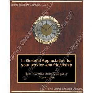 clock-plaque-rosewood-CL28010