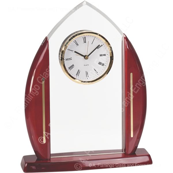 clock-rosewood-acrylic-CL28001